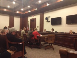 Massachusetts Legislature Hearing
